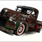 The '46 Chevy truck by muddy