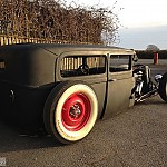 1929 Ford Model A by purple pig
