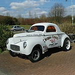 41 willys gas coupe