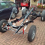 Willys gasser chassis by langysrodshop
