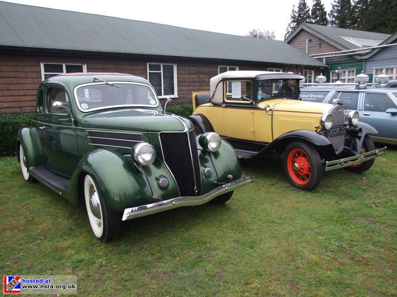 Two Early Fords
