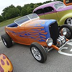 Keith's flamed 32 roadster