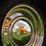 Hot rod reflection by Rossphotos
