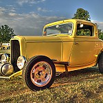 1932 Ford 3-window coupe by Rossphotos