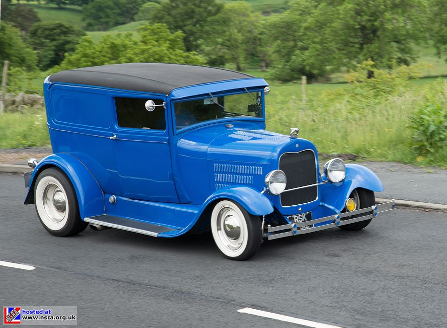 Model A Delivery, Hot Rods & Hills