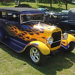 Model A purple & flamed 1 by Rossphotos