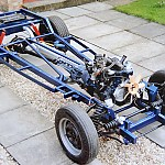 My old Pop's chassis, Trumph front suspension