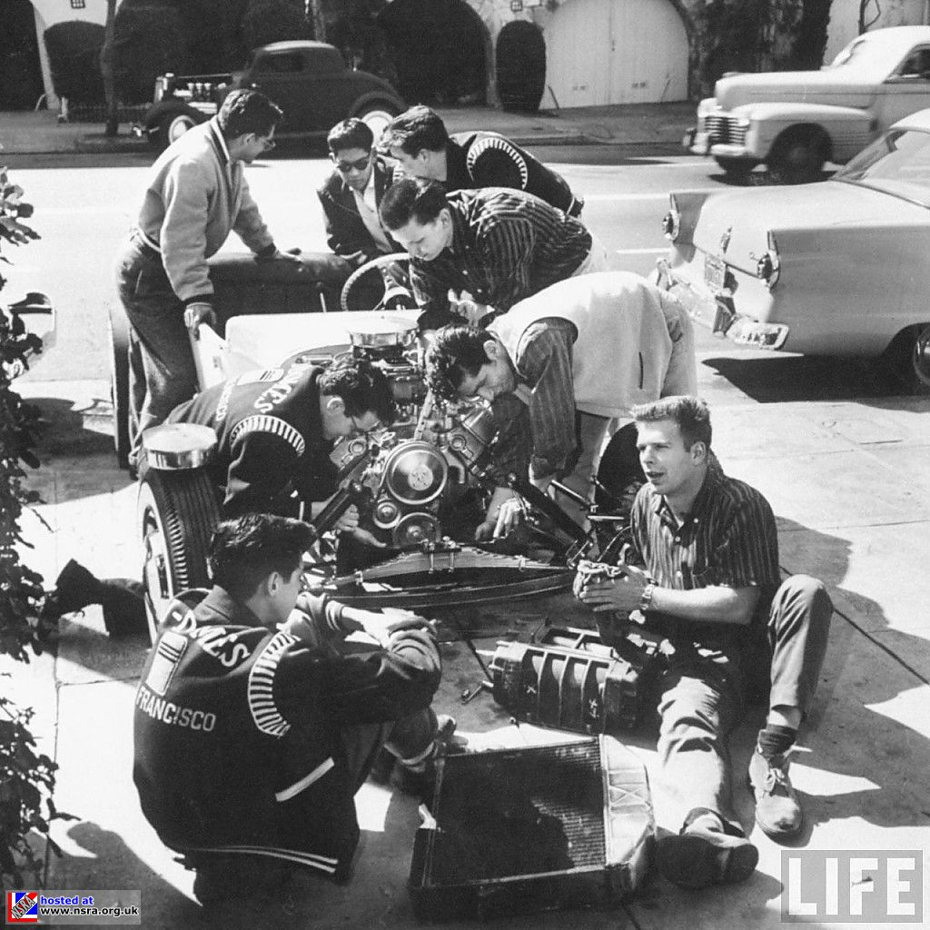 The fabled Camaraderie of Hot Rodding