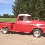 My 1958 Apache Stepside by grommit