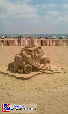 Sand Pic Of Car