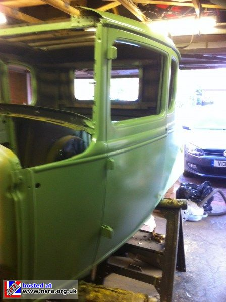 1930 Ford Model A Project