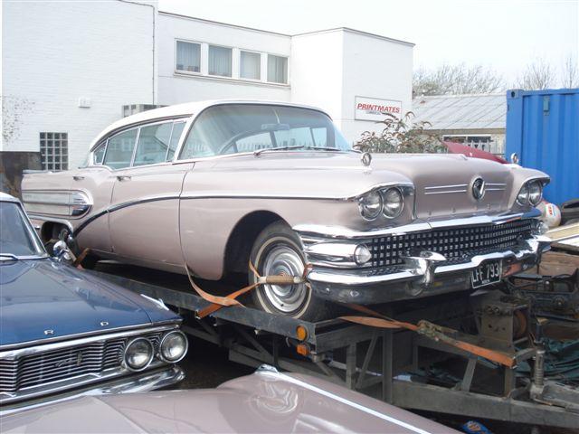 Fs 1958 Buick Super 4 Door Pillarless Hardtop