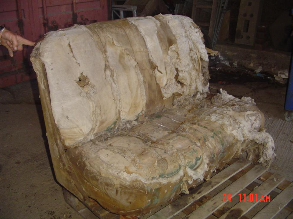 1938 39 1940 Ford Panels Bench Seat