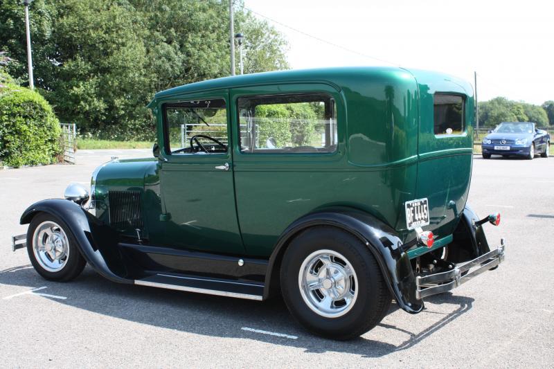 1929 Model A Ford Tudor Sedan
