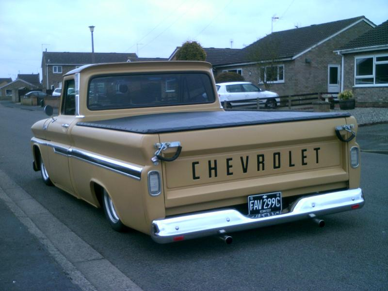 65 Chevy C10 Fleetside Kustom Bagged Sold