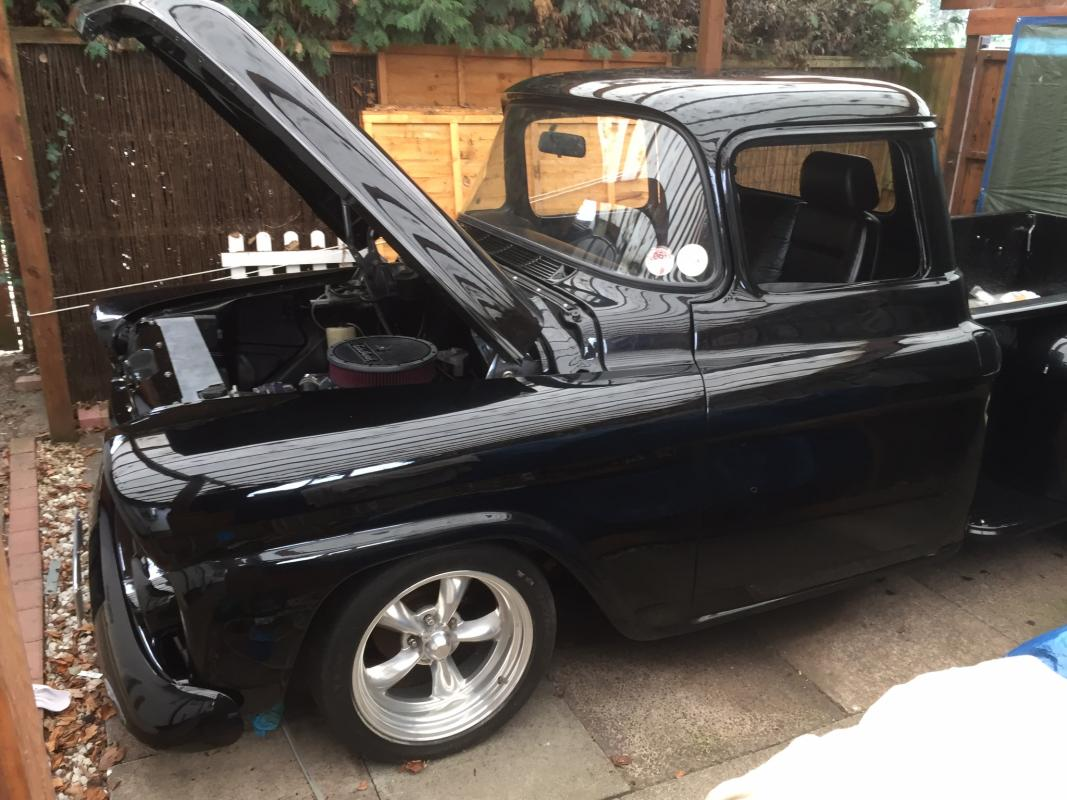 For sale 1959 Chevy 3100 Apache stepside - £14k