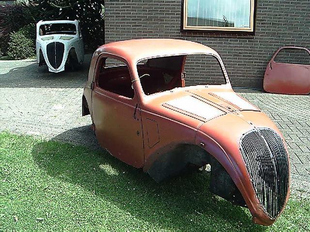 Fiat Topolino Body Steel Coupe
